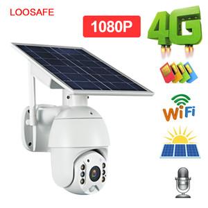 1080P Bulut Kablosuz IP Kamera 4G Shell Sola HD Açık Wi-fi, Güvenlik Gözetleme Su geçirmez Açık Kamera IR Gece Görüş