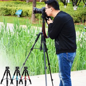 DHL 20PCS Q111 56 Zoll leichte Professional Camera Video Aluminiumstativ mit Tasche