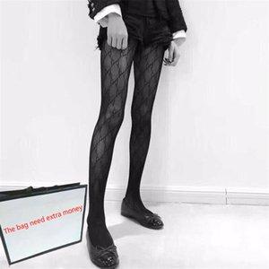 Elegante Meias Ladies meias de seda Meias da forma das mulheres Meias Sexy Transparente Grade Meias Feminino Meias