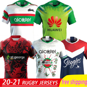 2020 Krieger Nines Jersey CANBERRA Assaulter Wests Tigers Südsydney Rabbitohs Manly Sea Eagles nationale Rugby-Liga Jersey