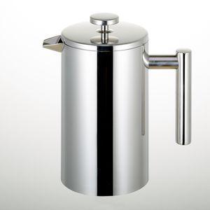 350/800 / 1000ML Pots de café presse française Cafetière Double Walled en acier inoxydable Cafetiere thé Pot avec filtre Filtre GGA3697