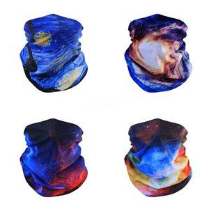 Unisex Kadın Erkek Çok renkli Sihirli Moda Baş Yüz Maske Boyun tozluk Snood Şapkalar Motosiklet Bisiklet Tüp Eşarp Headban # 137 # 494