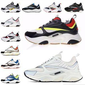Dior B22 Sneaker Erkek Tasarımcı Ayakkabı bağbozumu Sneakers Tuval Ve Dana derisi Eğitmenler Lüks Unisex Düşük En Günlük Ayakkabılar 20color Büyük boy 35-4 2ny3 #