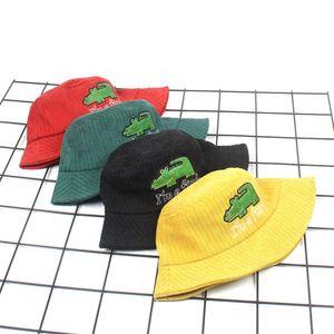 Cute Child Girl&Boy Crocodile Cartoon Fisherman Hat Sunscreen Outdoors Cap