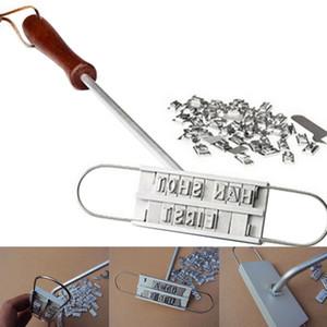 أدوات الشواء ID العلامات التجارية الحديد وللتغيير 55 رسائل BBQ ستيك اللحم العلامات التجارية الحديد