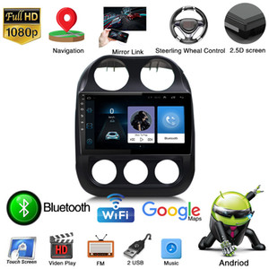 HD 10-Zoll-Android 9 Autoradio-Multimedia GPS Navigation Video Audio DVD-Player Bluetooth USB Für JEEP Compass