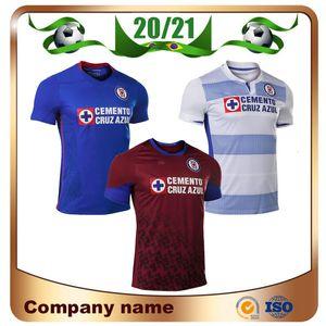 Dışarıda ALVARADO PINEDA 3RD futbol üniforma 2020 CD Cruz Azul Futbol Formalar 2020 Ev ROMO ESCOBAR RODRIGUEZ Futbol Gömlek