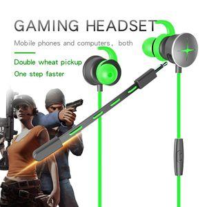Gaming fone de ouvido Para Razer Hammerhead com microfone 3 .5mm Y Splitter Microfone Em Auriculares Deep Bass jogo Heads Earphones Para Mobile Phone PC Game