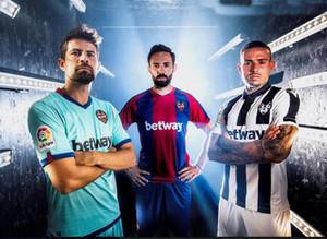 20 21 Levante UD Futebol Jersey 2020 2021 Rochina Camisetas de Futbol Levante A.J.Morales Roger Ms. Bardhi j campana camisas de futebol uniforme