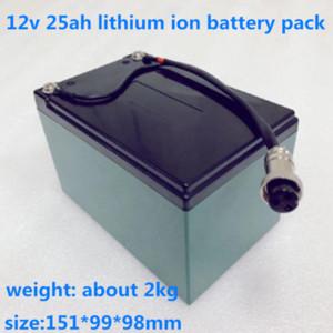 GTK 12V 25AH bateria de lítio Pacote Golf pacote carrinho carrinho com BMS para o golfe orador trolly Áudio + 12.6V 3A carregador