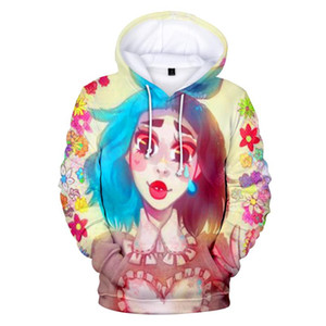 CRY BABY 3D Lovely Character printing Fashion Male Hoodies Beauty Character Print Sweatshirts Leisure Hoodies
