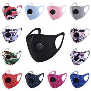 Ice Шелковой маску для лица с дыханием клапана моющегося летом маски многоразового Anti-Dust РМ2,5 Защитных масками твердой корзин маски
