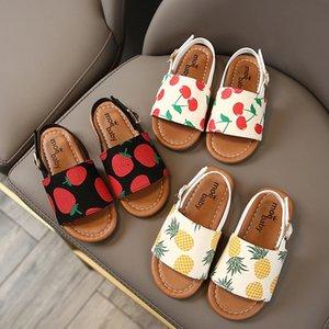 أحذية جلدية ربيع الخريف أطفال للبنات الأميرة الرباط الزهور بيزلي القوس حفل عقدة الرقص للأطفال بنات عرس ثوب كامل حذاء 21-30
