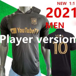 وصل لاعب نسخة جديدة 2020 LAFC كارلوس فيلا كرة القدم الفانيلة الرئيسية X زيلايا ROSSI لوس انجليس FC الأسود المفاوضة الابتدائية WHITE