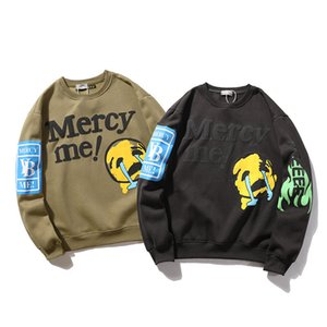 Fashion New Mens Designer Sweatshirts Merccy Me letter Print round collar Pullover mens and womens Stylist Hoodies in autumn and winter