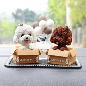 Car Styling tablero de instrumentos Decoración Sacudir la cabeza del perrito de baile Bobble Head perro Reproductores creativo de coches, hogar, oficina, sitio de la decoración