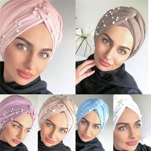 turbante de algodão muslim hijab capot turbantes na cabeça envoltório árabes para mulheres turbantes africanos indígenas torcer cabeça turbante mujer