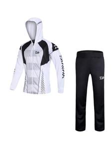 2020 New Summer Fishing Clothing Hooded Men Jacket Waterproof Quick-drying Coat Fishing Shirt Hiking Cycling Suit