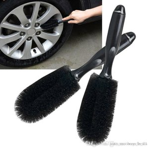 Vehicle Wheel cleaning Handle Brush Car Tire Rim washing tools colorful types outdoors travel cars Car Accessories