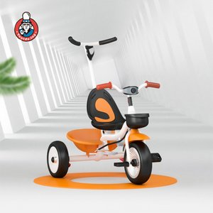 Crianças de bicicleta Criança de bicicleta bebê triciclo Baby Stroller Multifuncional Carriage Cochecito 2 em 1 carrinho