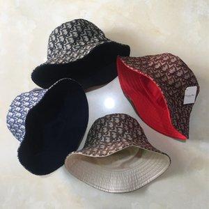 Très Bucket Hat Qualité Designer Cap Fashion Marque Avare Brim double face Chapeaux Respirant Casual Aménagée gros chapeaux