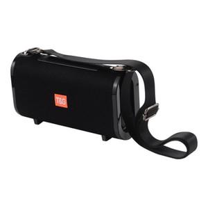 TG123 TG123 1200 mAh Taşınabilir Kumaş Taşınabilir Hoparlör Açık subwoofer Eller serbest Kablosuz Mini Hoparlör Destek TF Kart FM radyo, USB