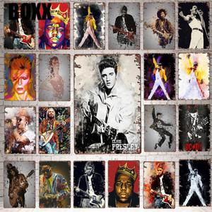 2020 Classic Movie-Sterne-Blechschild aus Metall Retro Vintage Pub Hotel Cafe Home Art-Wand-Dekor einzigartigen Geschenk Cuadros Moderner Kunst Wanddekoration