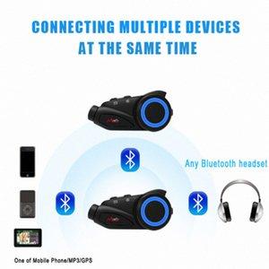 M3 Wireless-Motorrad-Sturzhelm Bluetooth Headset Freisprecheinrichtung Intercom MOTO freedconn Kopfhörer MP3-Lautsprecher intercomunicador moto vAj1 #