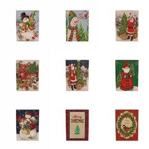 Suministros decorativos Bandera-Tirando de colores de la bandera de suspensión de Papanicolaou Bandera Color Hotel Centro Comercial Escuela de Navidad del almacén del col decorativo # 975