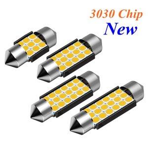Festoon 31mm 36mm 39mm 41mm C5W C10W Super Bright LED Bulb Car Dome Light Canbus No Error Auto Interior Reading Lamp Warm White