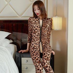 aR45L 7WMmt-gama abierta leopardo de impresión doble cremallera mono atractiva transparente Pinxian calzoncillos calzoncillos ropa interior ropa interior abierto-rang