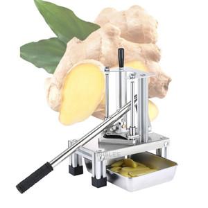 10 milímetros vertical cortador de batata a pressão da mão para Fries pepino máquina de corte do cortador de batata fritas tiras de batata manual da máquina de corte