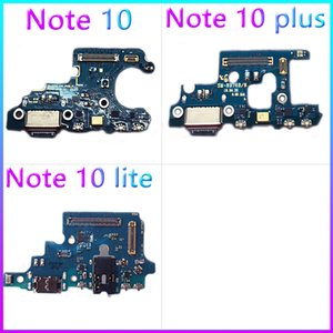 Dock Port Bağlantı Flex Kablo İçin Samsung Galaxy Note10 N970F Note10-Lite Note10-Plus N976B Şarj Yeni Orjinal USB Şarj
