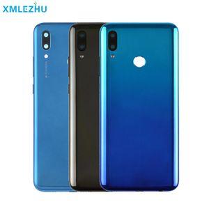 Cgjxsfor Huawei P Smart-2019-Akku Rückseite hintere Abdeckung Gehäusetür Frontplatte für Huawei P Smart-2019