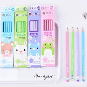 8pack Standard pencil Cartoon pencils for drawing Stationery Office school supplies Cartoon Signutra Pen