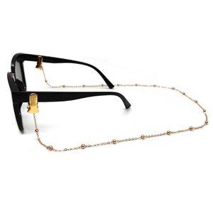 Máscara facial de la cubierta Elementos de amarre Soporte para las mujeres de los hombres de la lente de la cadena de cuerda de la correa de moda gafas de lectura gafas 200pcs Cadenas CCA12481
