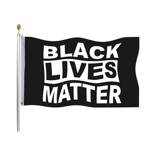 Black Flag Lives Matter 90 * 150см сад Флаг Баннер Флаг Стена Для Крытый Открытый демократов я не могу Дышать Justice Movement 3 * 5ft HH9-3280