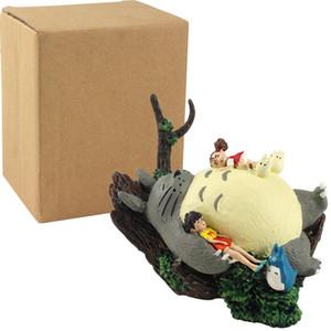 6.5CM الأصل الياباني الرقم أنيمي هاياو ميازاكي TOTORO PVC عمل الشكل لعبة أطفال مجموعة اللعب