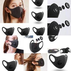 Karbon Bisiklet Hava Gerçekçi Kadın Face ile PM2.5 Aktif spor Shippingreusable Anti-kirlilik Koşu Sünger Toz Maskesi Ul9g Maske
