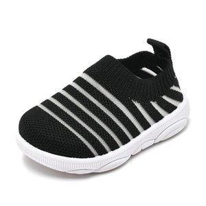 bambino estate scarpe striscia ragazzo bambino bambina antiscivolo piede brevi calzini 1-3years 6size 1988 TB01 rete