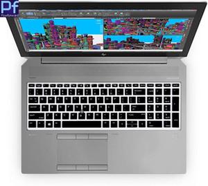 """لوحة المفاتيح كمبيوتر محمول غطاء سيليكون حامي الجلد 15.6 """"ZBook 15u G5 ZBook 15V G5 15 بي EliteBook 850 755"""