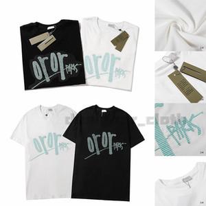 caldo di vendita Christian Moda uomo Uomo sportivo Designer shirt T-shirt uomo Paris Francia Via bicchierini del manicotto Abbigliamento magliette asiatico formato S-XXL