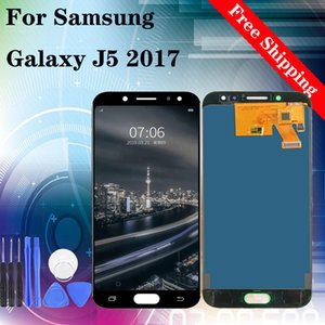 Brand new LCD Display 100% Tested Working Touch Screen Assembly For Samsung Galaxy J5 2017 J530 Lcds display with tempered film gifts
