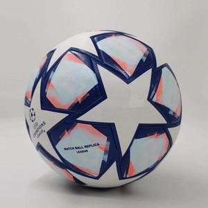 20 21 Champion d'Europe Ballon de football 2020 2021 Final Kiev PU Taille 5 balles granulés Football Slip-Résistant Livraison gratuite