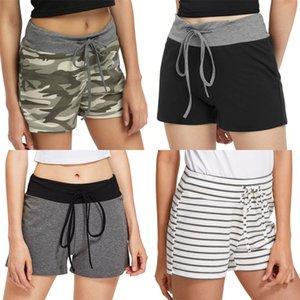 Cep Şort Moda Doğal Renk Kadife Pantolon Gündelik Ayrılabilir Şort Dişiler Giyim Bayan tasarımcı 2331 Multi # Cepler