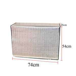 Lavado del acondicionador de aire de la cubierta exterior de aluminio de doble cara de la película impermeable