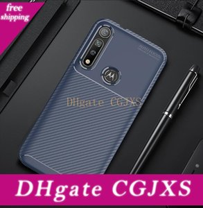 In fibra di carbonio Tpu Custodie Cellulari per Moto G8 + il G7 Xiaomi 9 Pro redmi Nota 8 8a Slim Custodia per cellulare antiurto