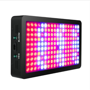 Newest Dual Switch Full Spectrum 600W 1200W 1800W LED Grow Light Hydroponics Vegetable Flower Plant Grow Light