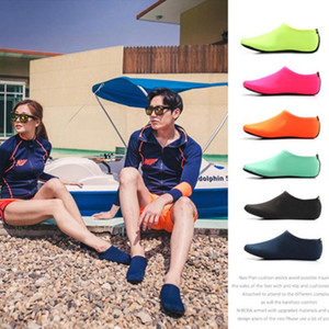 Breathable Soft Snorkeling Socks Summer Quick Dry Diving Socks Non-Slip Water Sports Beach Barefoot Protector Skin Shoes