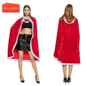 abbigliamento Cappuccetto Rosso Little Red Hat mantello Marsiglia flanella adulti cospaly Babbo Natale mantello